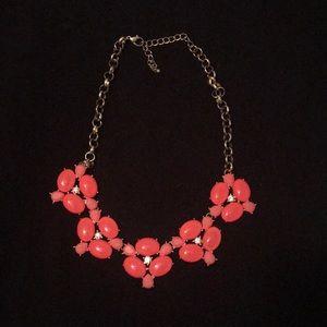 Pink Jcrew Necklace